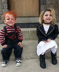 Chucky and Bride of Chucky Costumes for Kids - 2013 Halloween Costume Contest                                                                                                                                                                                 More