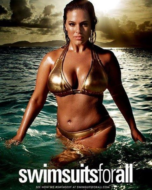 Ein Plus-Size-Model wird erstmals Covergirl der 'Sports Illustrated'