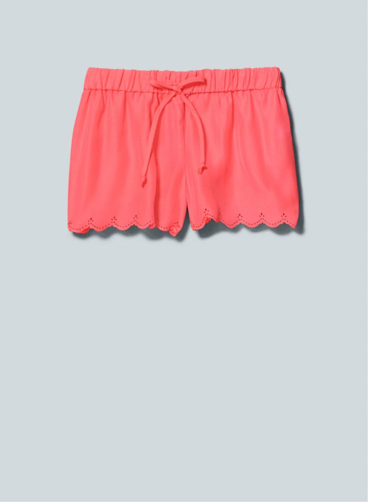 Talula Dade Shorts, now available at Aritzia.com. #scallop