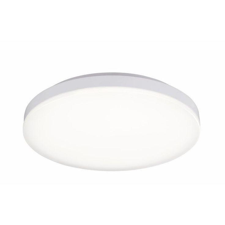 Plafonnier LED blanc 33cm