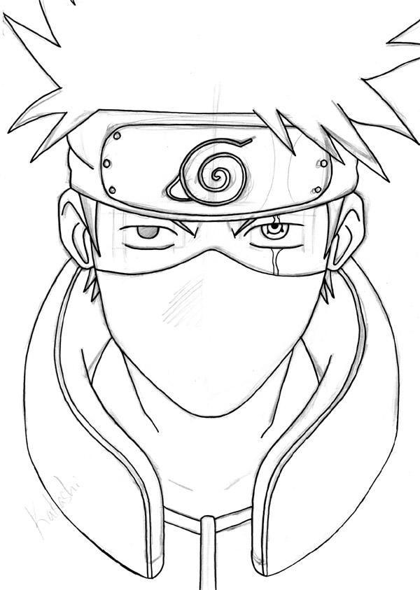 Kakashi Hatake By Pandamanda On Deviantart Kakashi Drawing Naruto Painting Anime Character Drawing