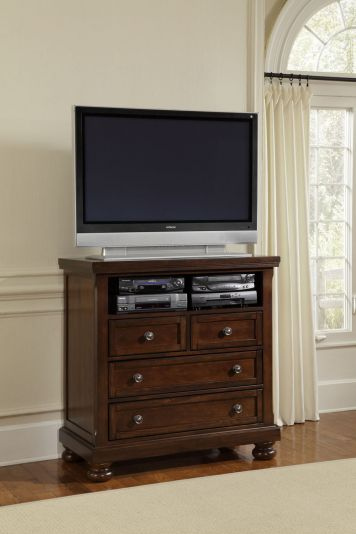Reflections   Dark Cherry, Reflections Entertainment Center   Dark Cherry,  Dining Room Table Sets, Bedroom Furniture, Curio Cabinets And Solid Wood ...