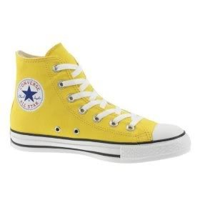 Shoe 3: (1986) Yellow Chuck Taylor Hi Top Shoes. I had them in white, black, pink (yes, I said pink), and blue.