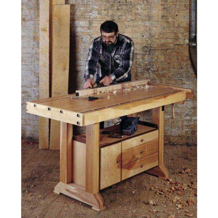 No Frills Workbench 4 Steps With Pictures: 143 Best Images About Workbench Plans On Pinterest