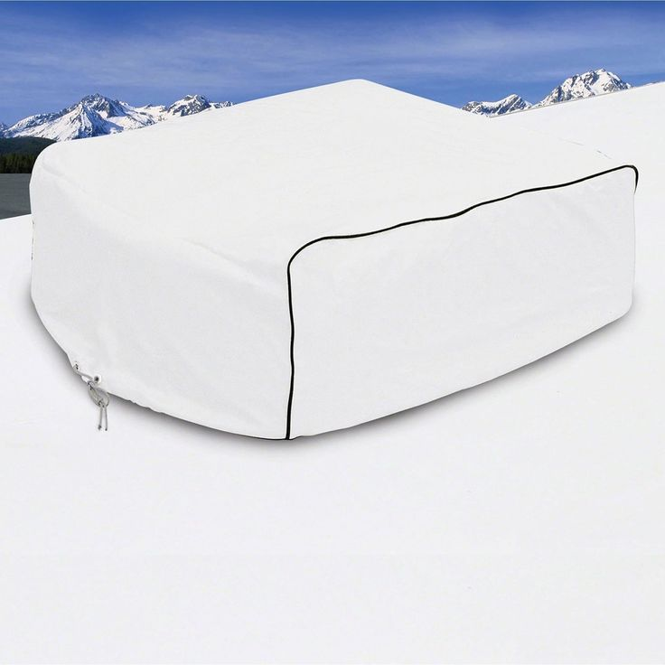 Classic Accessories 77410 RV Air Conditioner Cover, Snow