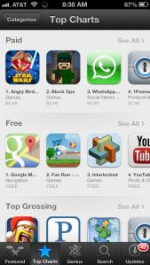 Google Maps Surges To Top Free App In The App Store In Just One Night