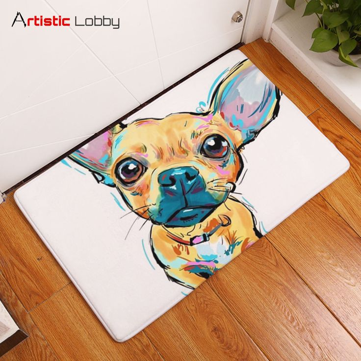 Lovely Painting Dog Anti-slip Floor Mat  📦 Worldwide Shipping 🔥 Follow Artistic Lobby for more ideas!  Start to personalize your home with our modern artistic home decor ideas. Find your bedding sets, floor mats, cushion covers, 3d cushions, wall decor & more! #homedecor #home #homedesign #homedecordesign #homedesignideas #decoration #art #artoftheday #life #lifestyle #lifestyleblogger