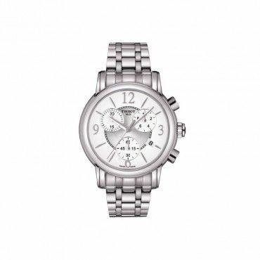 T0502171101700 Γυναικείο ελβετικό ρολόι TISSOT DRESSPORT με χρονογράφο, ασημί καντράν και ατσάλινο μπρασελέ | Ρολόγια TISSOT ΤΣΑΛΔΑΡΗΣ στο Χαλάνδρι