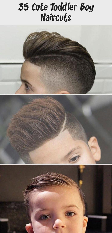 35 Cute Toddler Boy Haircuts | Men's Hairstyles + Haircuts 2019 #Cutebabyhairstyles #babyhairstylesWomen #babyhairstylesPonytails #Mexicanbabyhairstyles #babyhairstylesHalfUp