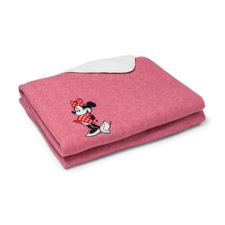 Mickey Mouse & Friends Minnie Mouse Pink Bed Blanket (Full)