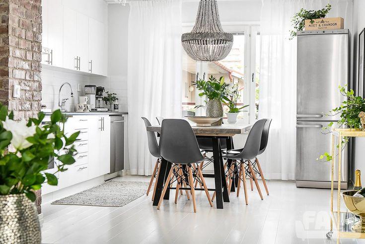 Skandinávské jídelny inspirace - Krásné bydlení ve skandinávském stylu | FAVI.cz