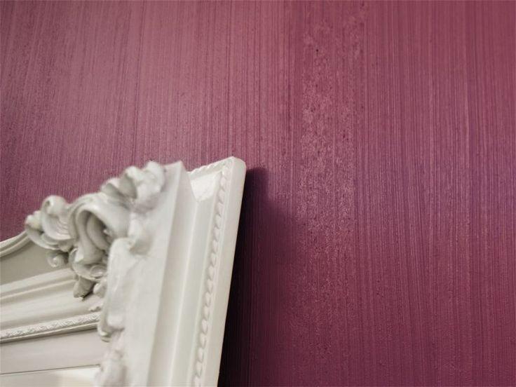 Geheimnisvoller Schimmer: Eine kreative Wandgestaltung mit Twilight seidenglänzend als Finish.