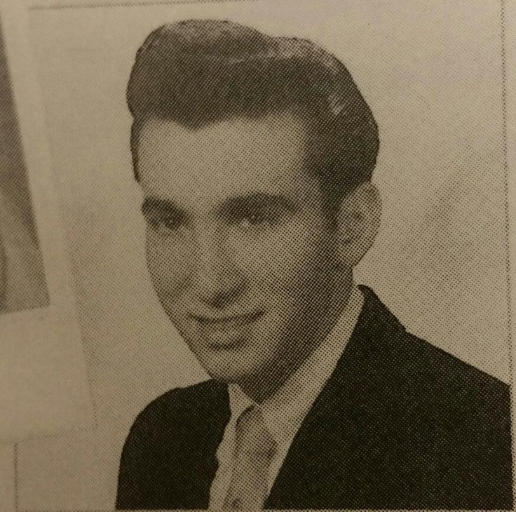 Roy Demeo 1959 high school graduation