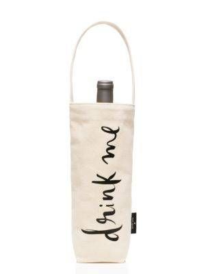 GIFT IDEA: drink me wine tote - kate spade new york