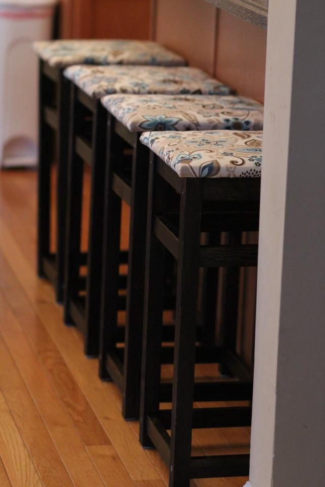 bar stool fabric ideas for crafts