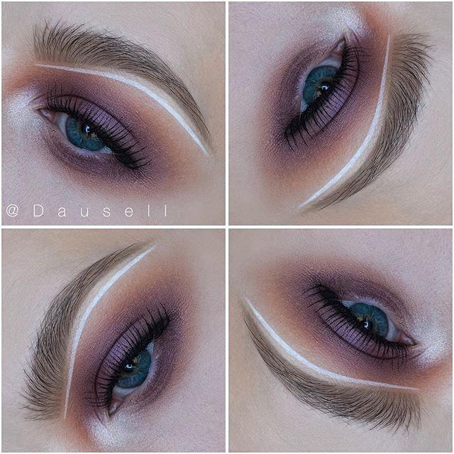 WEBSTA @ dausell - Product list: • @katvondbeauty 'Metal Matte' palette and Shade Light eye palette and ink liner in 'Neruda' • @anastasiabeverlyhills @anastasianordic Brow Powder duo in 'Medium Brown' and Clear Brow Gel #dausell #eotd #eyemakeup #eyeshadow #motd #makeup #smink #sminke #mua #makeupartist