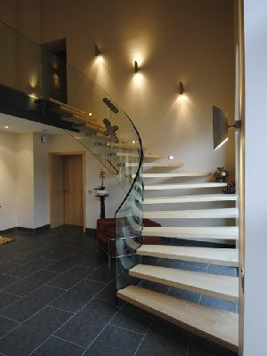 Dise os modernos de escaleras interior de la casa dise o - Escaleras de cemento para interiores ...