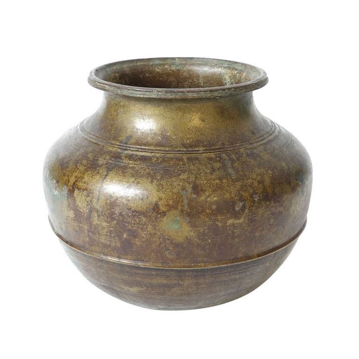 Indian Bronze Vessel For Sale