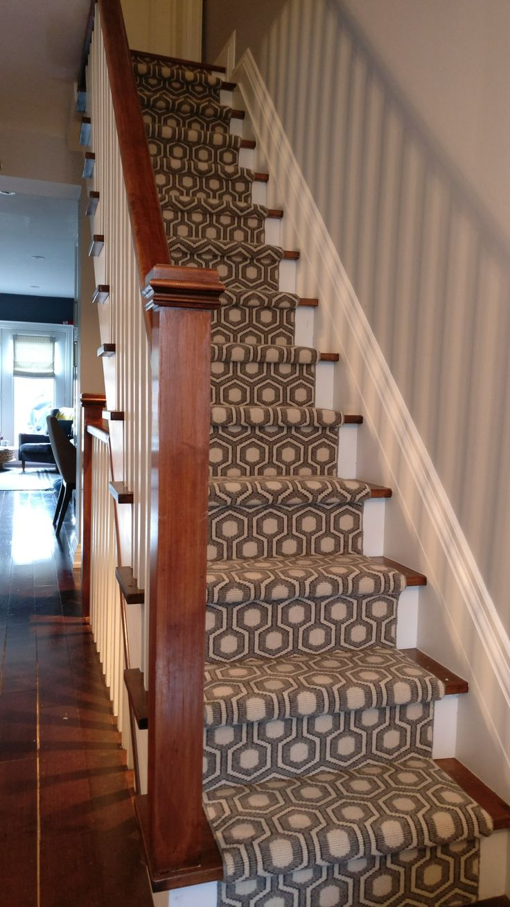 Wool carpet runner for stairs wwwLoveYourStairsca The