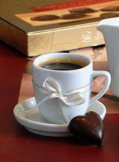 Coffee & Chocolate...perfection.