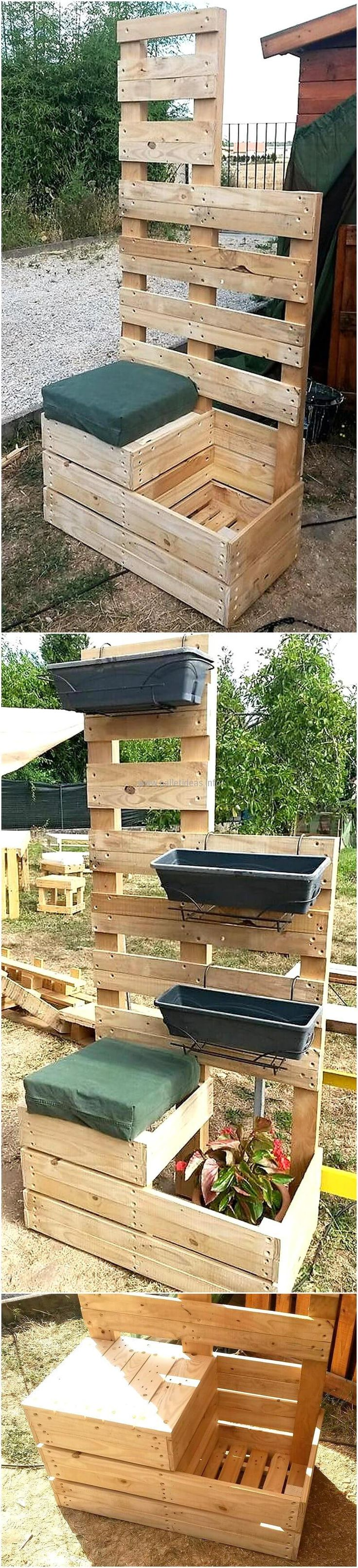 Reuse Wood Pallets To Create Such Amazing