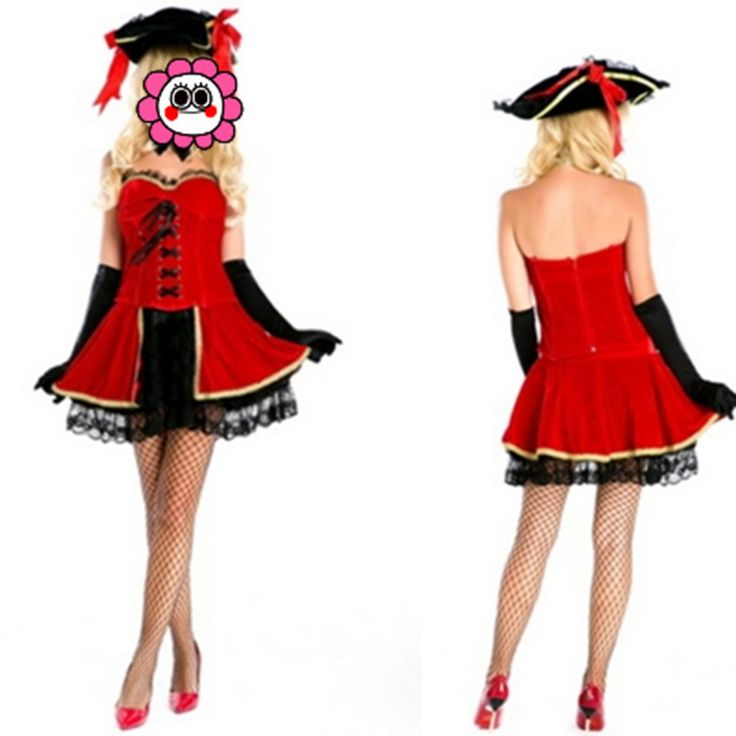 Abbille Sexy Pirate Dress Deguisement Adult Cosplay Burlesque Spanish Pirate Costume Halloween Costumes For Women 2017 |