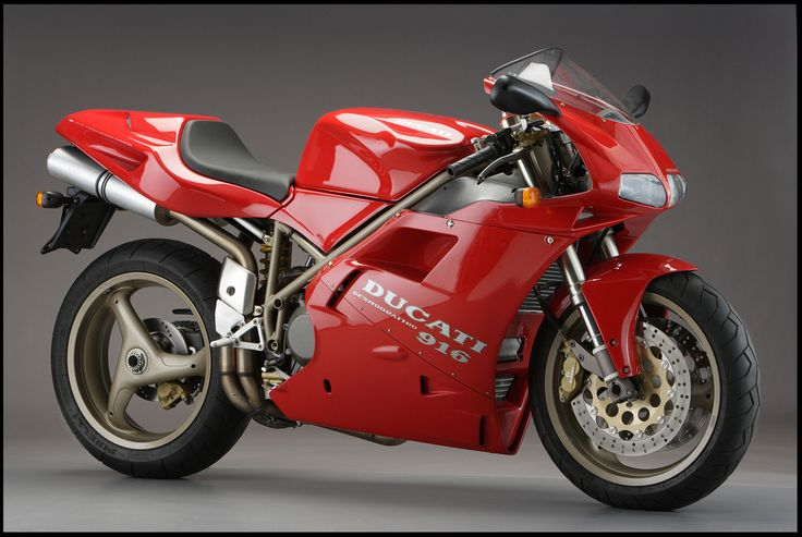 The 916... this is the one that started my love for Ducatis.