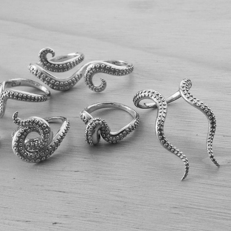 "tentacled rings. Percival Luto | Debut Collection ""Kraken"""