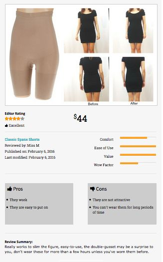 8c9d2bc040a4 Classic Spanx Shorts, Before & After Shapewear Review. | Shapewear/Waist  Trainer and Corsets | Shapewear, Spanx, Waist training corset