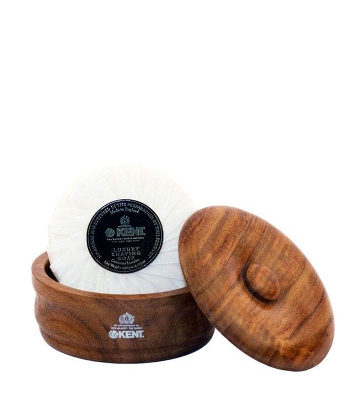Săpun de bărbierit Kent Luxury în bol de lemn SB1 125gr