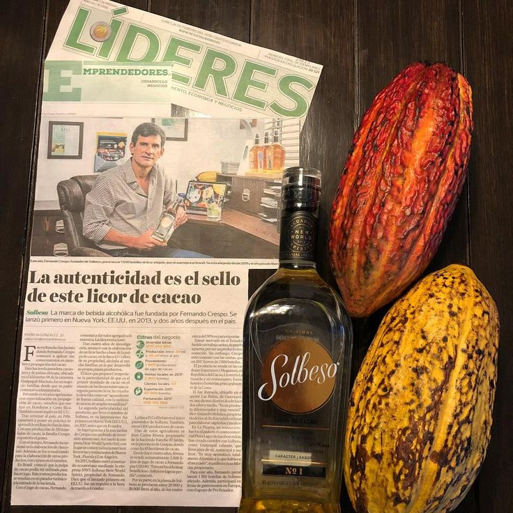 Comparto esté reportaje y sigo en la trabajo por el posicionamiento tanto en el Ecuador como en el exterior. Gracias a la revista Líderes. http://www.revistalideres.ec/lideres/autenticidad-sello-licor-cacao-emprendedores.html #Solbeso #itisfiveoclocksomewhere #mixology #bar #home #drinks #spirit #madeinecuador #allyouneedisecuador #dj #bartender #life #lifetimefriends #cocktails #cacao #fruit #unique #1 #thefirst #thebests #vivelavida #vivalavida #beach #beachdrinks #beachcocktails…