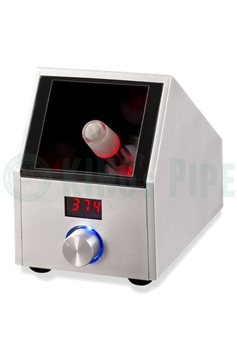 EASY VAPE - DIGITAL VAPORIZER SILVER  on KING's Pipe Online Headshop #420 #710