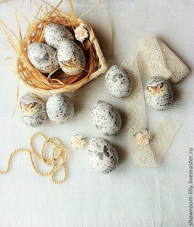 Купить Винтажная Пасха - белый, винтажный стиль, винтаж, подарки ручной работы, Пасха