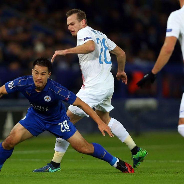 Shinji Okazaki and Marc Albrighton take Leicester into UCL Round of 16