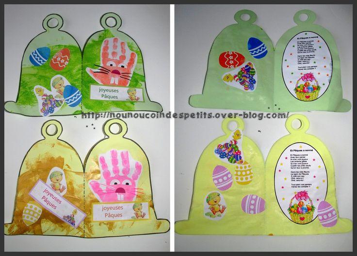 17 best images about biglietti di pasqua on pinterest fai da te bunnies and pop up cards - Cloche de paques ...