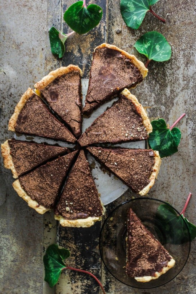Chocolate Treacle Tart.....no apologies here. Yes, its totally indulgent but isn't that why we eat pudding? To indulge?