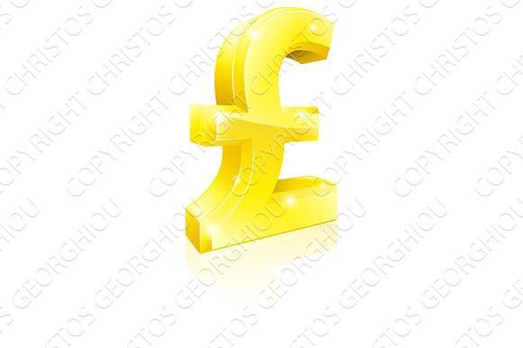 Pound Sterling currency sign