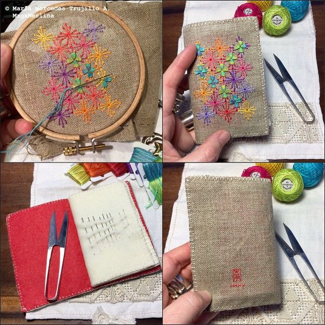 Needle Book. Wessex Stitchery - Wessex Embroidery