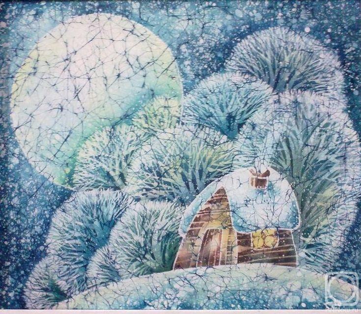 Картинки по запросу батик зима Новый год
