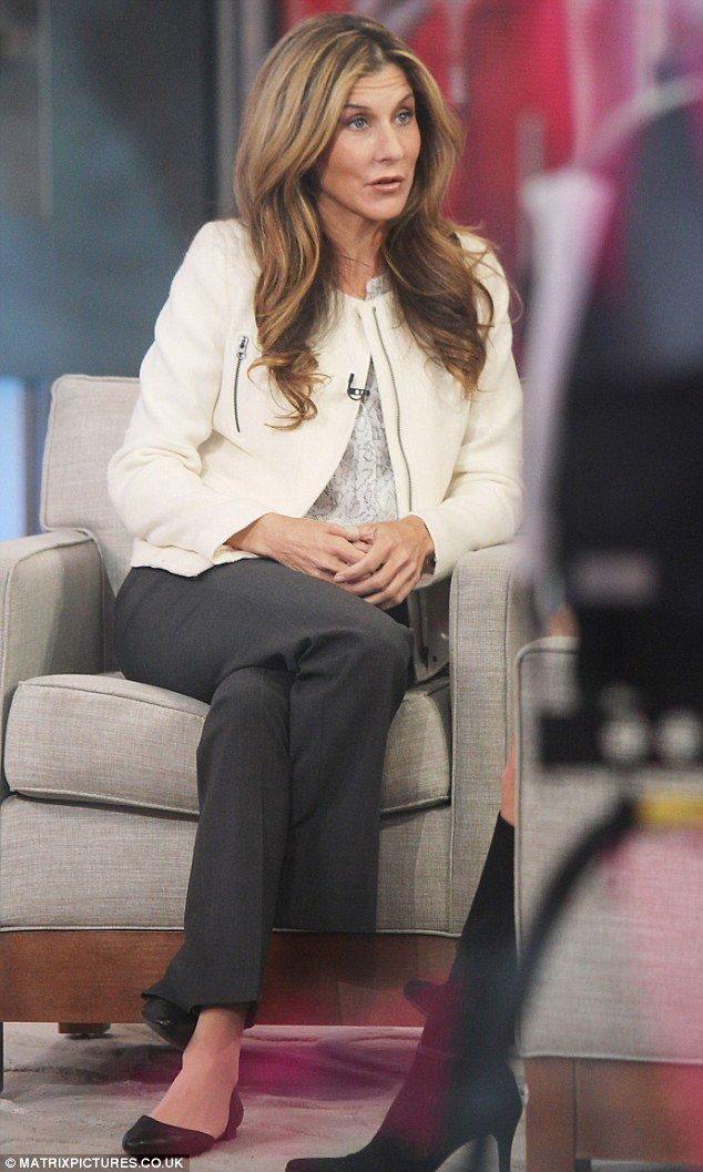 A shocking announcement: Monica Seles, pictured on Good Morning America on Friday, has admitted she used to be a binge eater