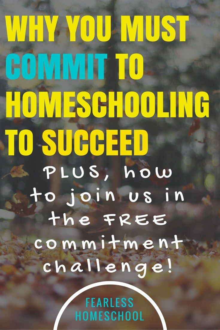 Want to sign up for the Homeschool Commitment Challenge? See the end of this…