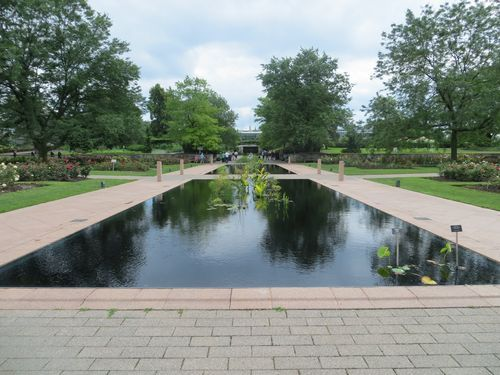 Reflecting Pools at the Royal Botanical Gardens in Burlington, Ontario