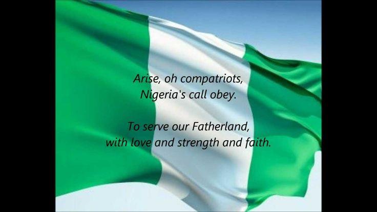 "Nigerian National Anthem - ""Arise, Oh Compatriots"" (EN)"