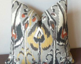 Funda de almohada a Indigo Ikat almohada almohada diseñador