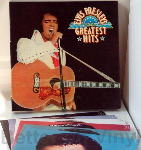ELVIS PRESLEY, Greatest Hits. box, 7 ALBUMS INC ELVIS AT THE MOVIES - SOUNTRACKS, COMEDY, POP, VARIOUS ARTISTS, MISC. #LP Heads, #BetterOnVinyl, #Vinyl LP's