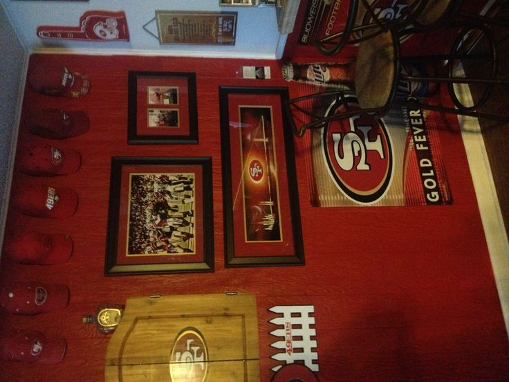 49ers room 49ers pinterest caves 49ers room and man for 49ers room decor