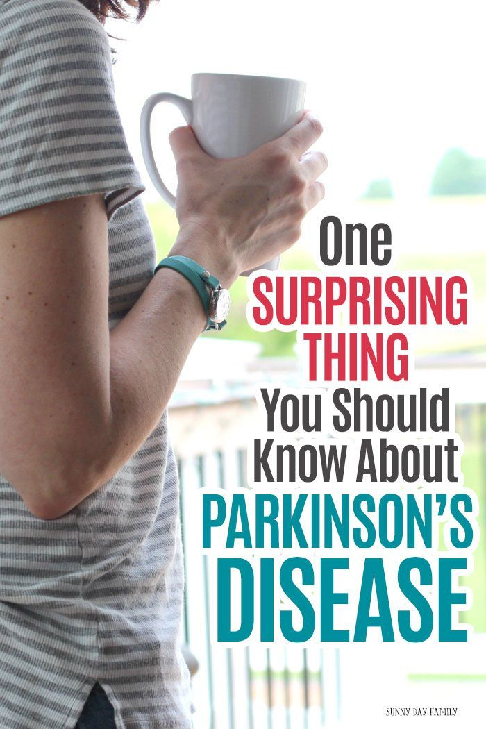 One Surprising Thing You Should Know About Parkinson's