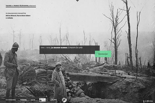 La grande guerre à travers les arts