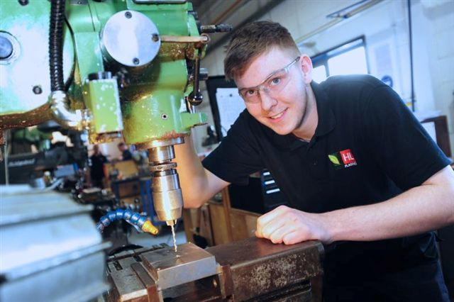 Mechanical engineering apprenticeships provided by Derby College are playing a pivotal role in the on-going expansion of a Denby plastics manufacturing company.