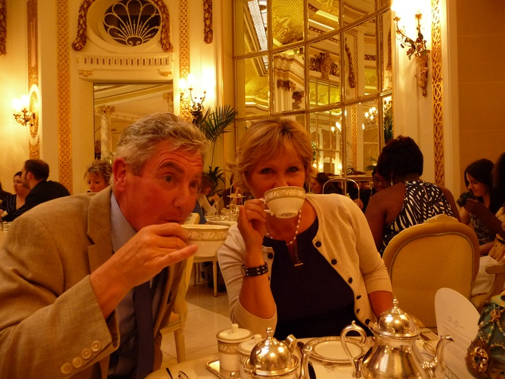Tea at the Ritz darling?